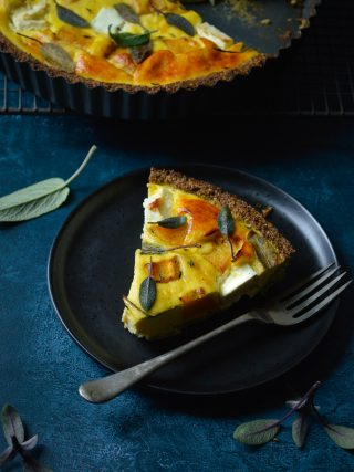 The perfect low carb pumpkin tart