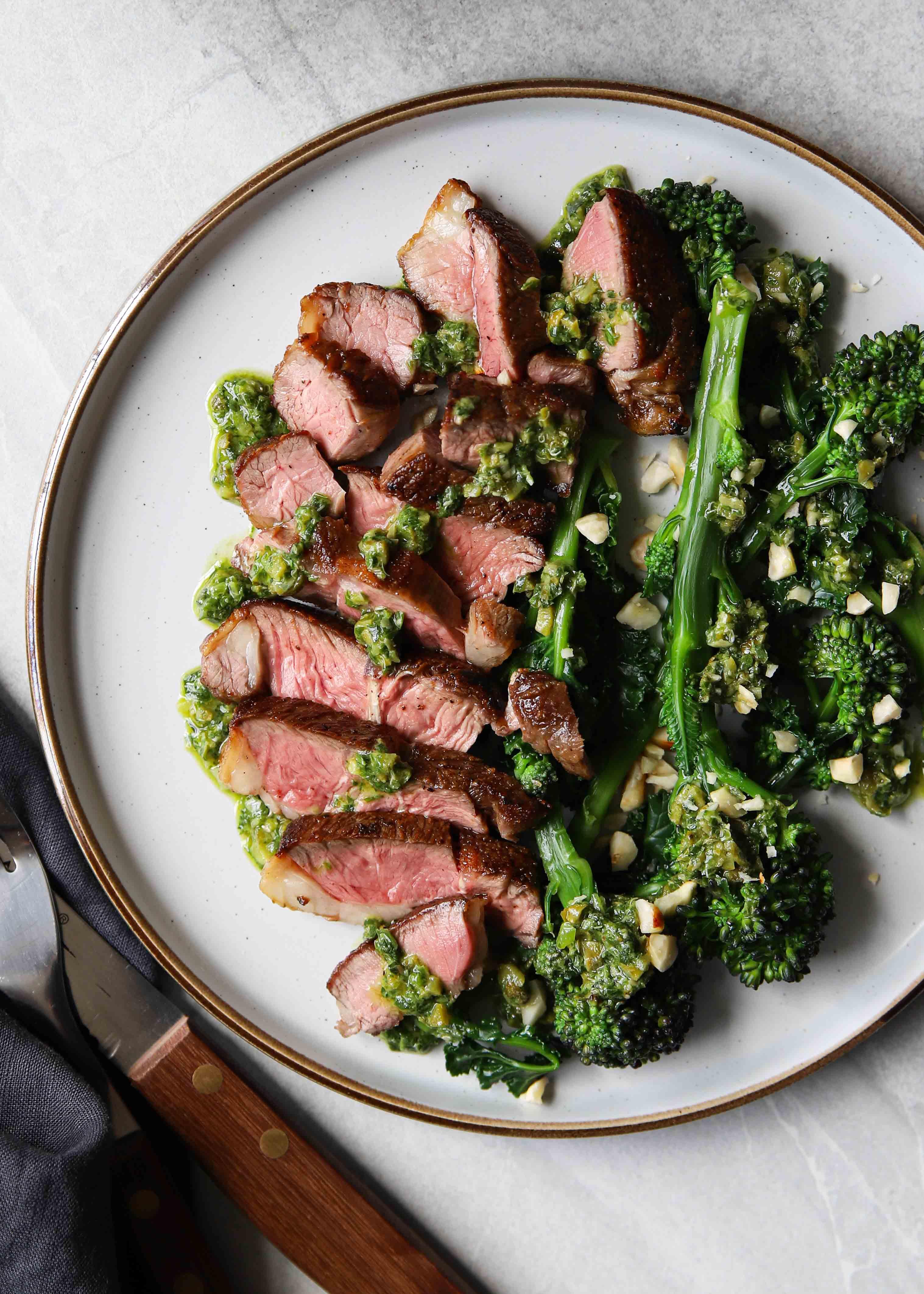 How to cook a lamb rump steak