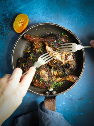 Crisp, pulled duck with beautiful creamed celeriac, all fired up with the best jerk seasoning around. The perfect dish for autumn.